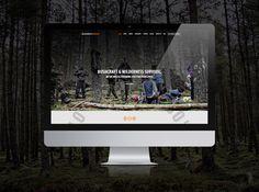 Website for Backcountry Survival #website #webdesign #outdoor #nordic #minimal #minimalist