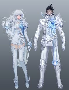 Aion 4.5 Armour Concept Art