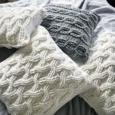 CROCHET PATTERN The Hudson Pillow Pattern Crochet by rubywebbs