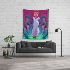 My Frida | My Herοine Wall Tapestry Wall Tapestries, Tapestry, Artwork, Wall Hangings, Hanging Tapestry, Tapestries, Work Of Art, Auguste Rodin Artwork, Artworks
