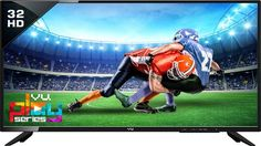 Vu 80cm (32) HD Ready LED TV(32D7545, 2 x HDMI, 2 x USB) Deal Price: ₹13,499 There are days when all you want to do is sit up on your bean bag and binge watch TV. With the VU 32D7545 HD Ready LED TV, you can enhance your TV-viewing experience as it offers life-like audio and video clarity. Do you prefer watching TV as you lie down on your bean bag or eat your dinner on your dining table? If yes, then you will love this Vu HD Ready TV...