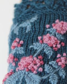 Knitted Fingerless Gloves Mint Turquoise от nbGlovesAndMittens