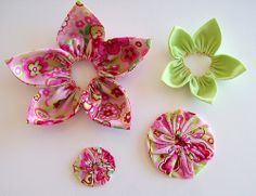 3D Fabric Petal Flower Pin (Part 2)