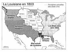 """""""L'histoire """"française"""" de la Louisiane s'arrête en 1803 avec la vente de cette région aux Etats-Unis par Napoléon, pour 15.000.000$"""" http://www.delanglais.fr/Peltier/html/louisian.html#"""