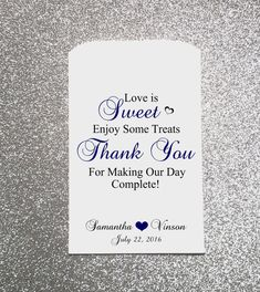 Hey, I found this really awesome Etsy listing at https://www.etsy.com/listing/267156055/love-is-sweet-enjoy-some-treats-wedding