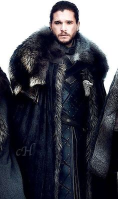 The one and only Kit Harington — casaharington: Kit Harington as Jon Snow by Helen...