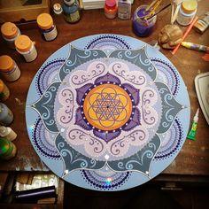 ♥ 14 - 42 cm de Mandala - Disponível para pronta entrega