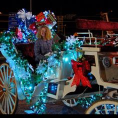 Christmas Carriage Rides at Walden's Landing in Pigeon Forge, TN