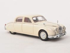 Neo Jaguar Mark 2 Resin Model Car 44332 This Jaguar Mark 2 Resin Model Car is White and features comes in a display case. It is made by Neo and is scale (approx. Jaguar Models, Model Car, Diecast Models, Display Case, Scale Models, Resin, Toys, Vehicles, Illustration