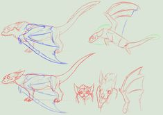 Species concept sketchy+ full perms+ anim *Closed* by NorthernRed