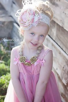 Pink+Champagne+Over+the+Top+headband+by+ChloeRoseCouture+on+Etsy,+$30.00