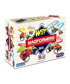 There are a lot of super cool kids toys for Christmas season  2017 / 2018. However there will always  be a few stand out toys that are considered the best toys for boys and girls  and these are it. As these are  educational and inspire creativity.       Wow 16-Piece Set
