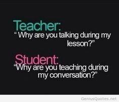 Funny wallpaper school quotes student vs teacher