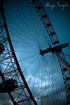 London Eye - Perfect views from there. Especially at night.