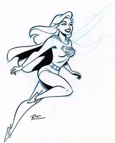 The graceful lines of Bruce Timm.