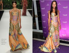Padma Lakshmi In Naeem Khan – 2013 Alzheimer's Association Rita Hayworth 30th Anniversary