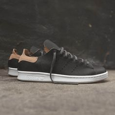 "wings + horns x adidas Originals Stan Smith ""Gray"" A premium take by the Canadian label on a storied adidas sneaker."