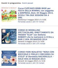 DOLCI EMOZIONI BARI: RIEPILOGO CORSI DI CAKE DESIGN