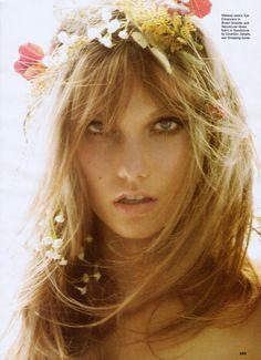 Karlie Kloss by Mario Testino for Allure, november 2011