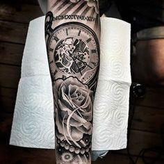 Tattoo by artist @lilbtattoo #blackandgray #blackandgrey #inksav