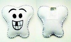 Tooth fairy pillow tutorial, para cuando se les empiecen a caer los dientes!!
