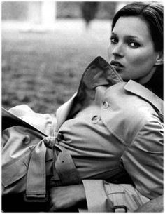 Kate Moss et le trench