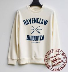 Hey, I found this really awesome Etsy listing at https://www.etsy.com/listing/210663343/ravenclaw-quidditch-shirt-harry-potter