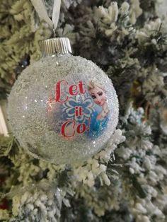 Disney Frozen Elsa & Anna Christmas Ornament by NeverGrowUp4Ever