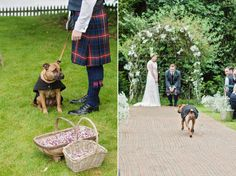 Couples dog | Love My Dress® UK Wedding Blog