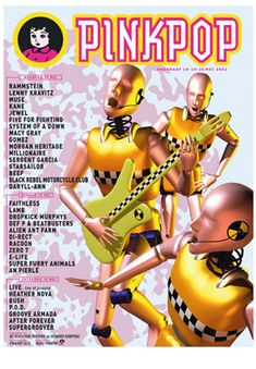 2002   Pinkpop History