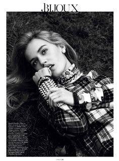Georgia May Jagger by Lachlan Bailey for Vogue Paris August 2013