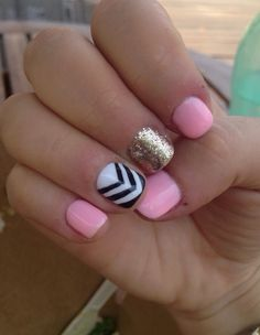 Just did this with my nails and it turned out amazing