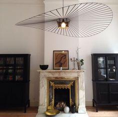 Petite Friture ®, design editor of bold Furniture and Lighting Luminaire Vertigo, Lampe Vertigo, Home Living, Living Spaces, Living Rooms, Blitz Design, Deco Luminaire, Sweet Home, Dark Interiors