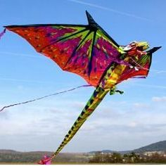 Windsocks, Dragon Windsocks. Mythical Chinese Dragon Windsock / Kite. - Life's a Breeze