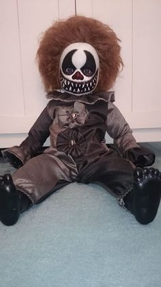 Ordinary doll into super scary Clown doll. On Halloween Forum