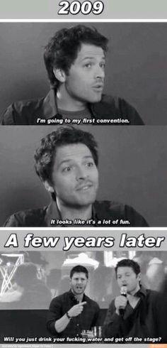 Misha / Castiel - I love this man.
