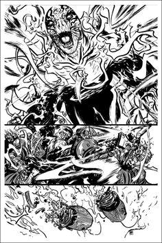 Nathan Fox | Out of Step Arts Inspiration, Nathan Fox, Comic Page, Art, Fox Art