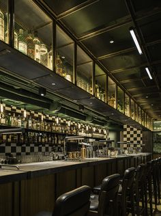 Aberdeen Street Social Restaurant, Hong Kong designed by Neri&Hu Design and Research Office