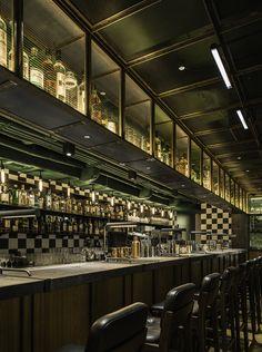 Aberdeen Street Social Restaurant, Hong Kong designed by Neri&Hu Design and Research Office
