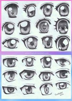 How to draw manga / anime . How to draw manga / anime … – Basics – – -Anime eyes; How to draw manga / anime . How to draw manga / anime … – Basics – – - Anime Drawing Eyes, Manga Drawing, Manga Art, Drawing Sketches, Art Drawings, Hipster Drawings, Human Eye Drawing, Pencil Drawings, Sketching