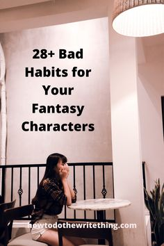 Some characters are super-secret about their bad habits, while other fictional characters are oblivious that they have a bad habit. Which bad habits work? Book Writing Tips, Creative Writing Prompts, Writing Help, Better Writing, Writing Characters, Fantasy Characters, Character Prompts, Fictional Characters, Writing Prompts Funny