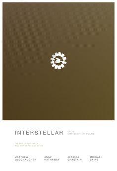 Interstellar Poster Series on Behance