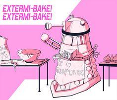 Dalek cocinero #Estermi-bake