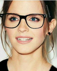 She is looking fab in spectacles