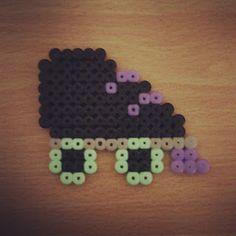 Skate perler bead #skate #perlerbead