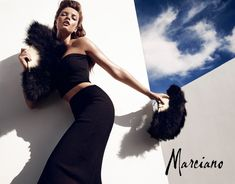 Sandrah Hellberg Smolders in Marcianos Holiday 2012 Campaign by Hunter & Gatti