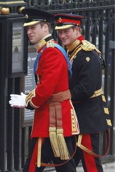 Prince William and Prince Harry, wedding day of Prince William and Kate Middleton Royal Prince, Prince And Princess, Princess Kate, Lady Diana, Prince William Et Kate, Prince Harry Et Meghan, George Of Cambridge, Duchess Of Cambridge, Princesa Diana