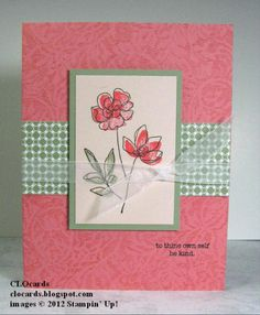 Coral Blooms 1 by CLOcards - Cards and Paper Crafts at Splitcoaststampers