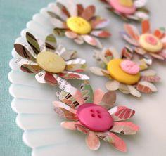 easy crafty flowers