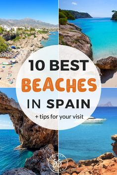 From the Basque Country to Galicia, Spain is home to some of the most beautiful beaches in Europe. Discover the 10 best beaches in Spain and travel tips to plan your visit. Spain Travel Guide, Europe Travel Tips, Places To Travel, Travel Destinations, Travelling Tips, European Travel, Travel Advice, Budget Travel, Travel Guides